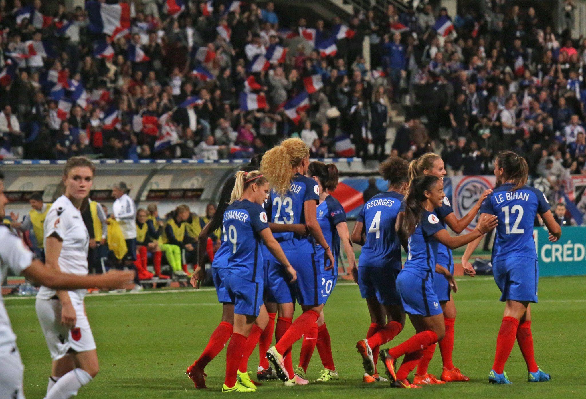 FranceAlbanie Féminines A 60, les buts en 3 minutes
