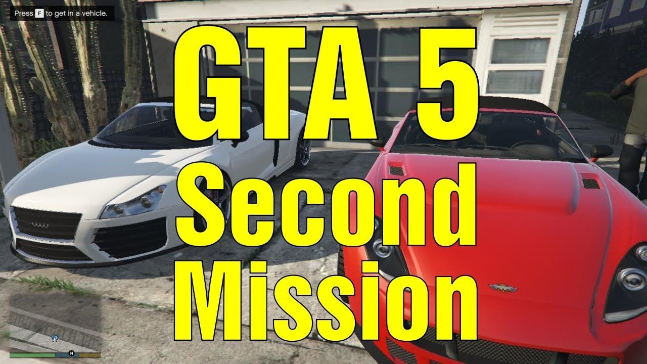 How to Complete The GTA5 Second Mission The Franklin and Lamar