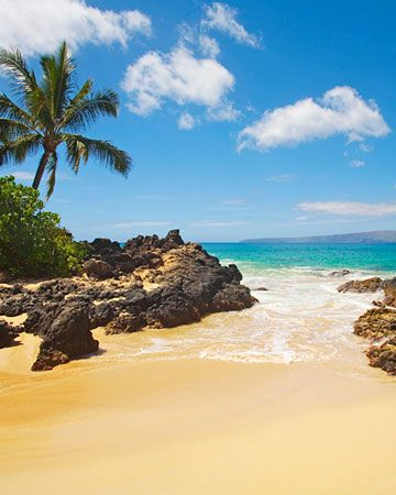 Secret Beach, Maui, Hawaii >> Someday, I hope to have my own secret beach!