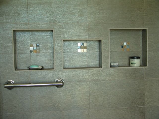 Contemporary Bathroom Niche ez niches usa recess bathroom shower shampoo wall niche modern