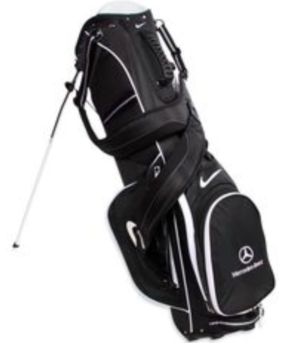 Lady 39 s nike vapor mercedes benz golf bag love my new bag for Mercedes benz backpack