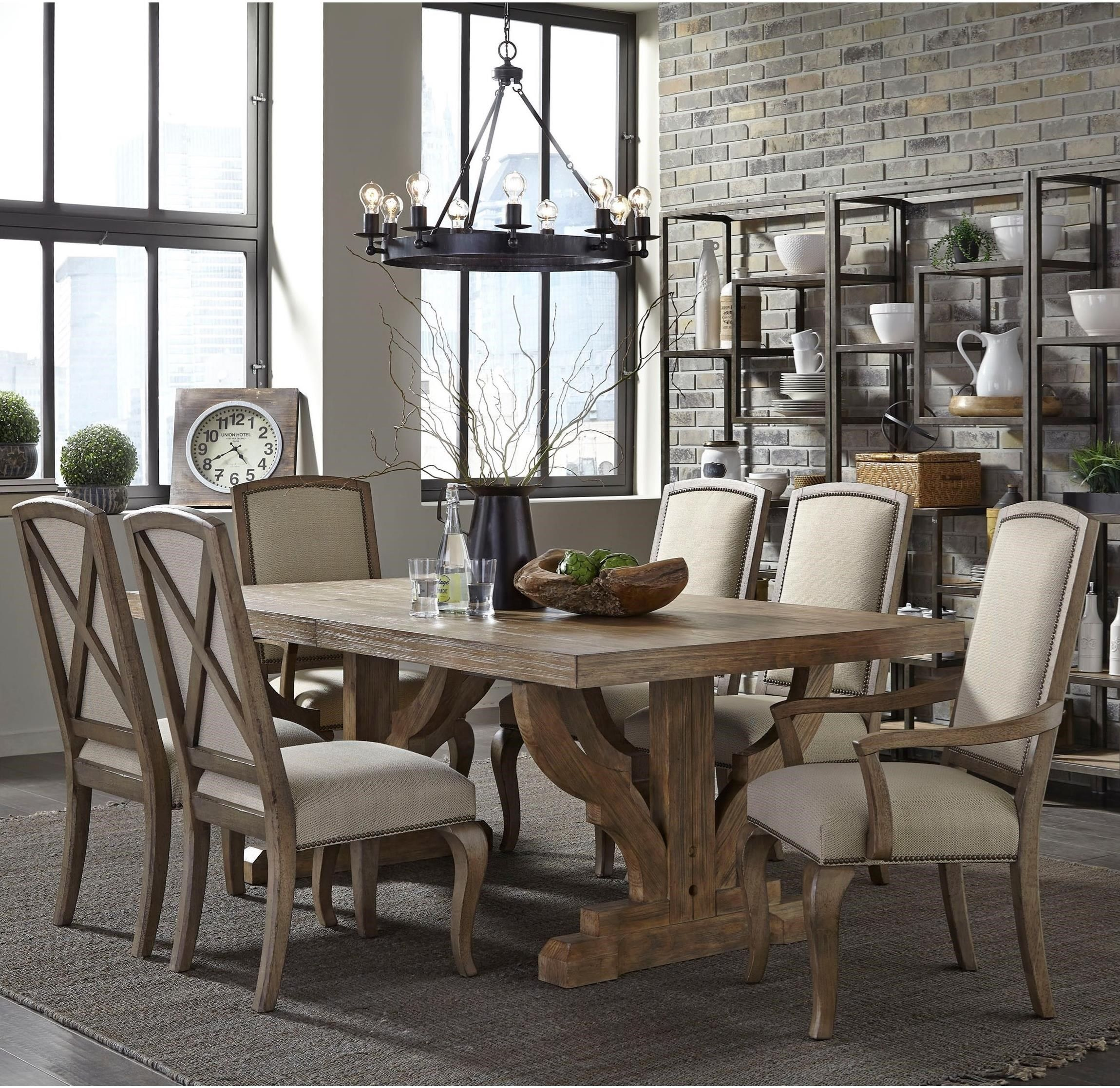 bedford avenue 7 piece table and chair setbroyhill