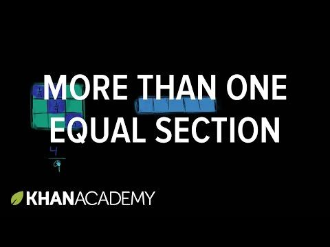 More Than One Equal Section Fractions Third Grade Math Khan Academy