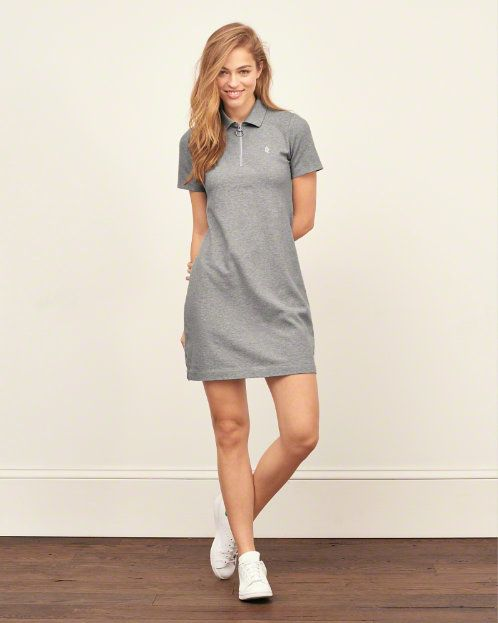 4b6e5ca35d8 Womens Polo Dress | My Style | Polo dress outfit, Polo shirt women ...