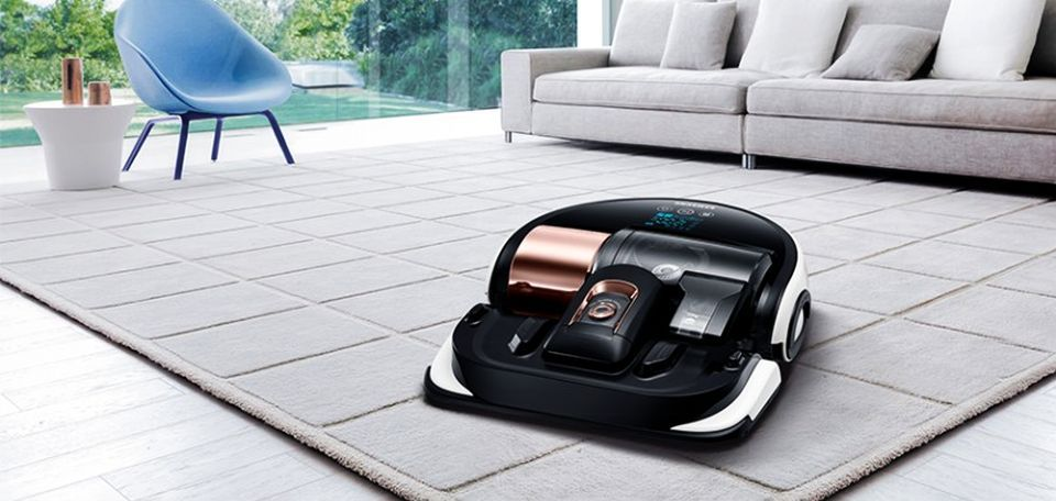 Samsung's robotic vacuum cleaner comes with laser point technology