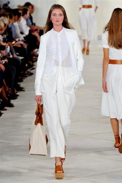 206320bc1e88 Sfilata Ralph Lauren Collection - Primavera-Estate 2016 - New York - Moda -  Elle