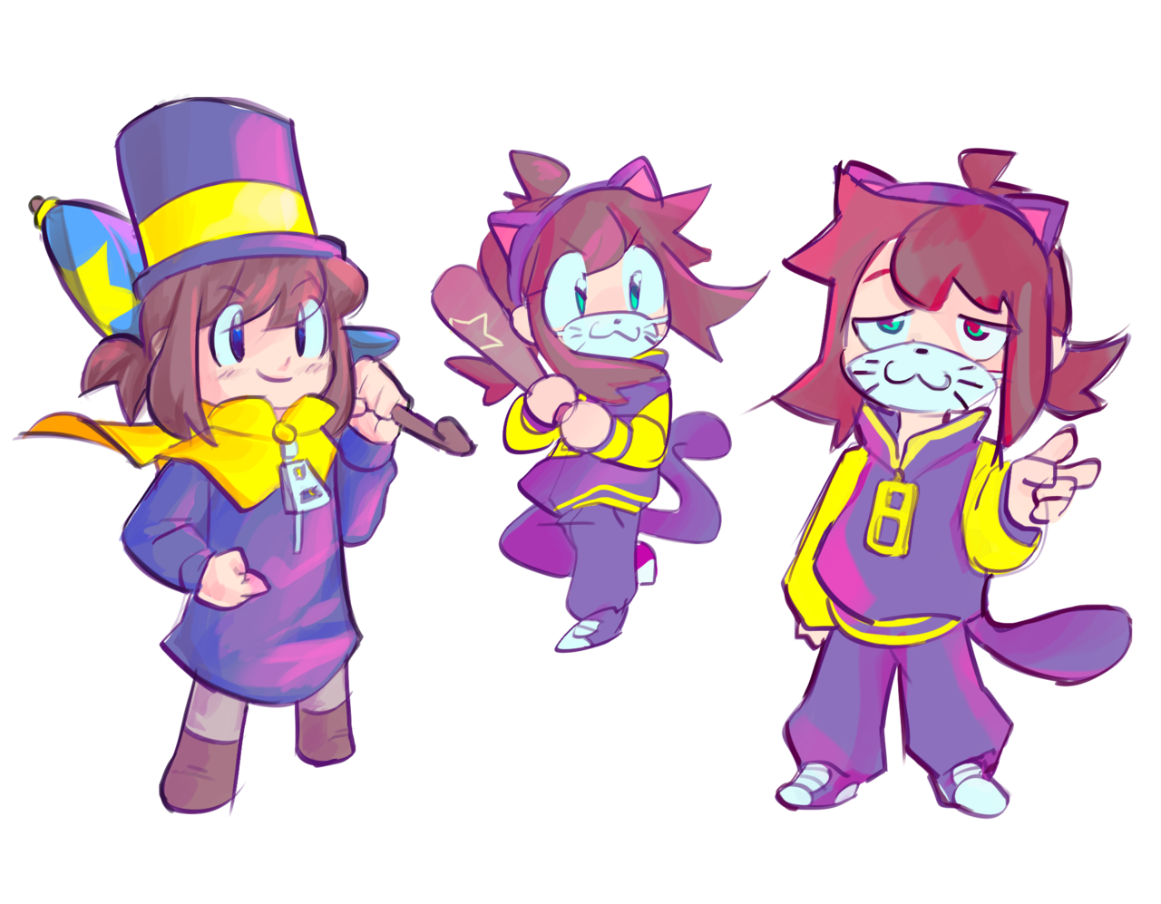 a hat in time nyakuza metro Tumblr A hat in time, Girl