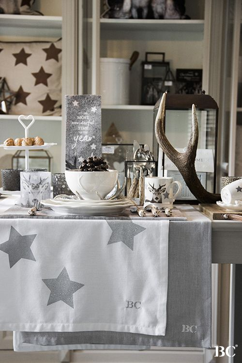 Winter Collection 2015 www.bastioncollections.nl $runner #stars #bowl #antler…