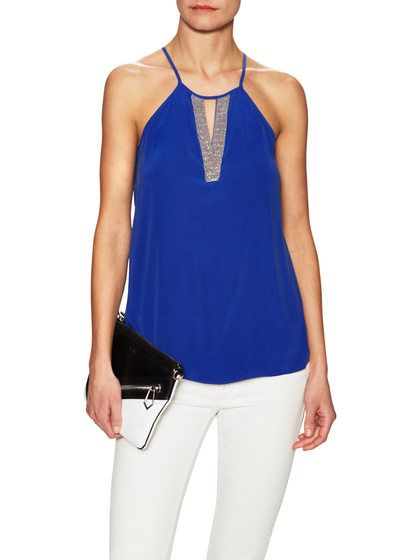 Lilly Silk Top by Ramy Brook at Gilt