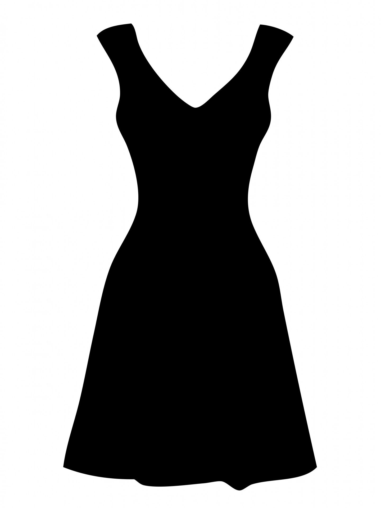 free clipart of dresses black dress clipart by karen arnold rh pinterest com dress clip art images dress clip art bride