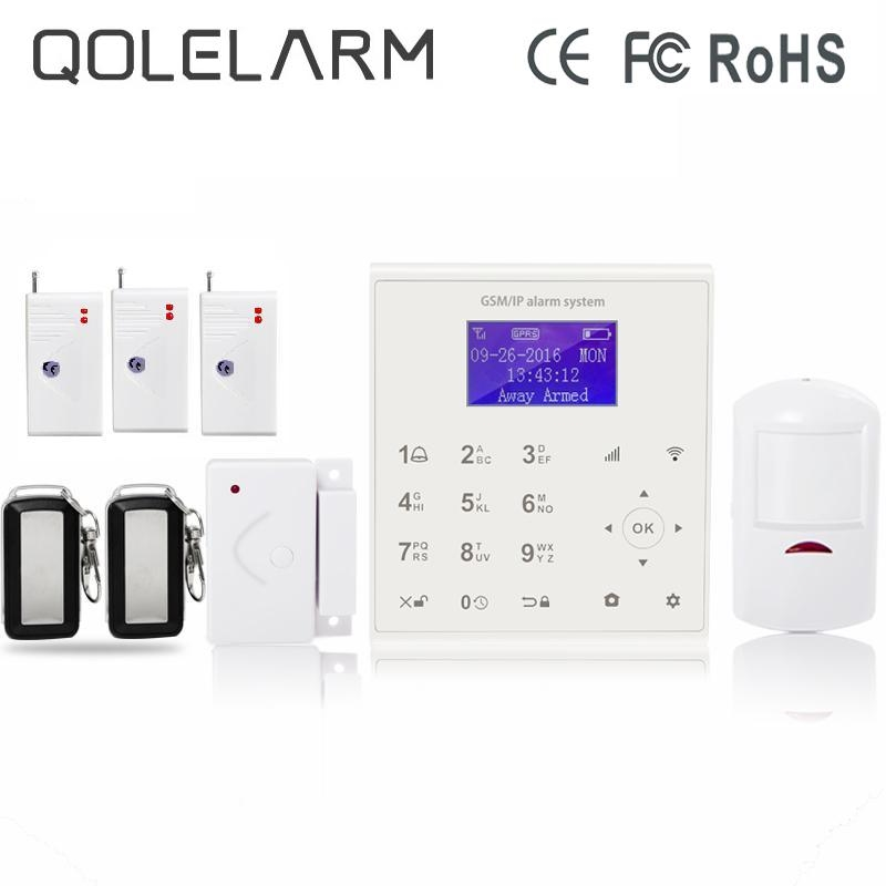 Security Alarm Now >> 144 28 Watch Now Qolelarm Spanish Polish Danish Menu Wireless Gsm