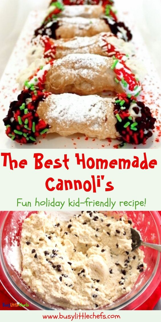 Italian Cannoli Recipe -   15 desserts Italian chocolate chips ideas