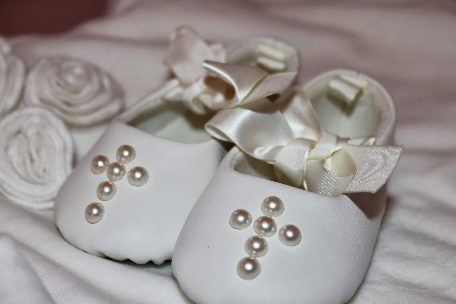 Customized Baby Baptism Slippers  http://sweetonstyleblog.blogspot.com/p/motherhood.html