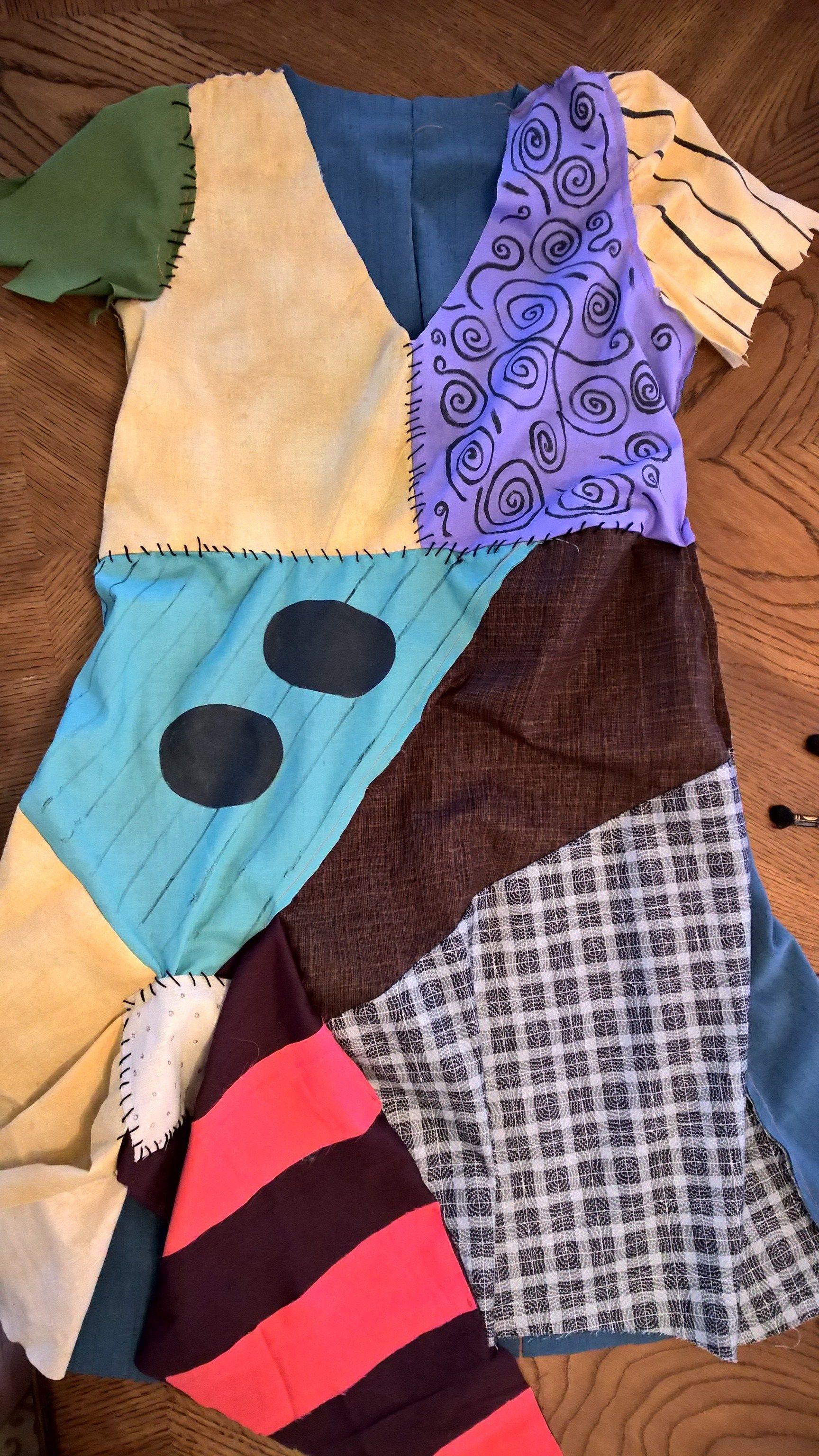 DIY Sally Costume Nightmare Before Christmas - 10 Disneyland Tips ...
