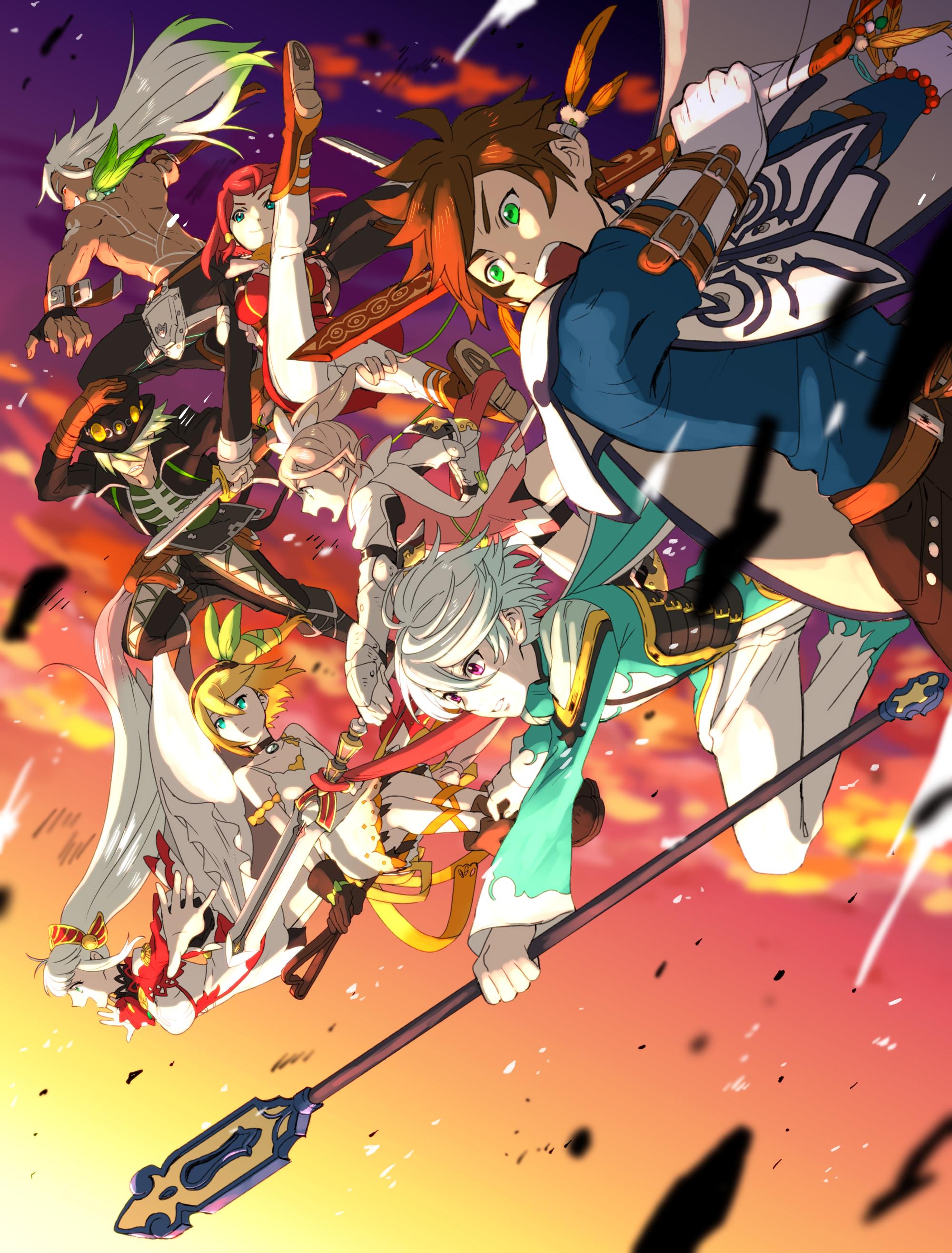 Tales of Zestiria the X (con imágenes) Cómics anime