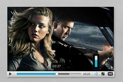 Free Psd Files High Quality Video Player Templates Drive Angry Amber Heard Movies Nicolas Cage Movies