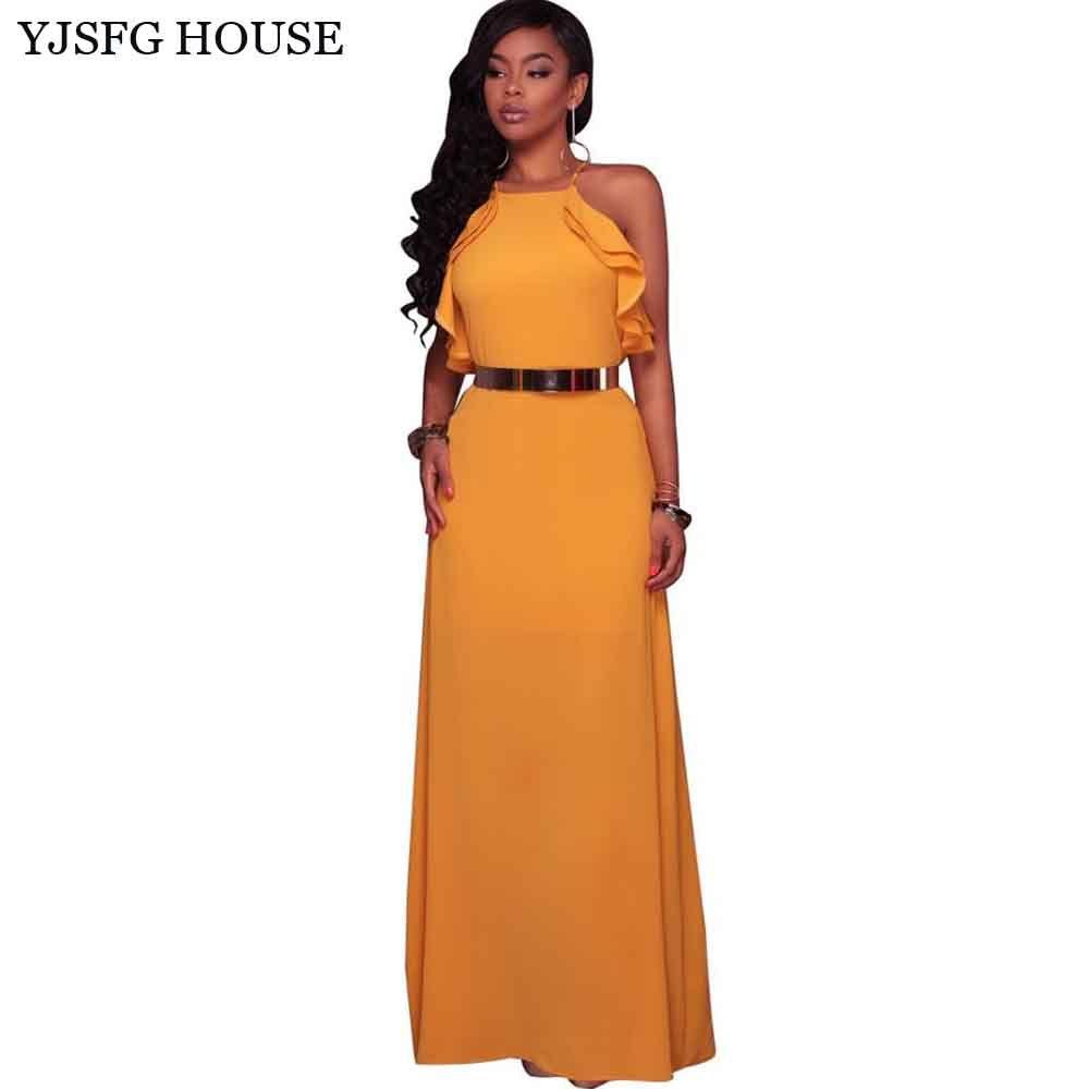 Yjsfg house elegant women off shoulder evening party dress sexy