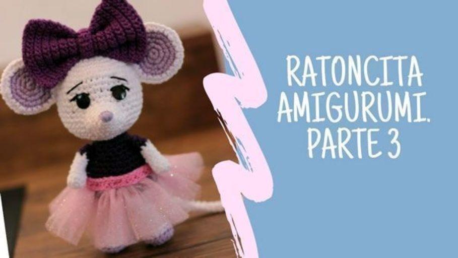 Ratoncita amigurumi paso a paso - Patrones gratis - Shower Blog