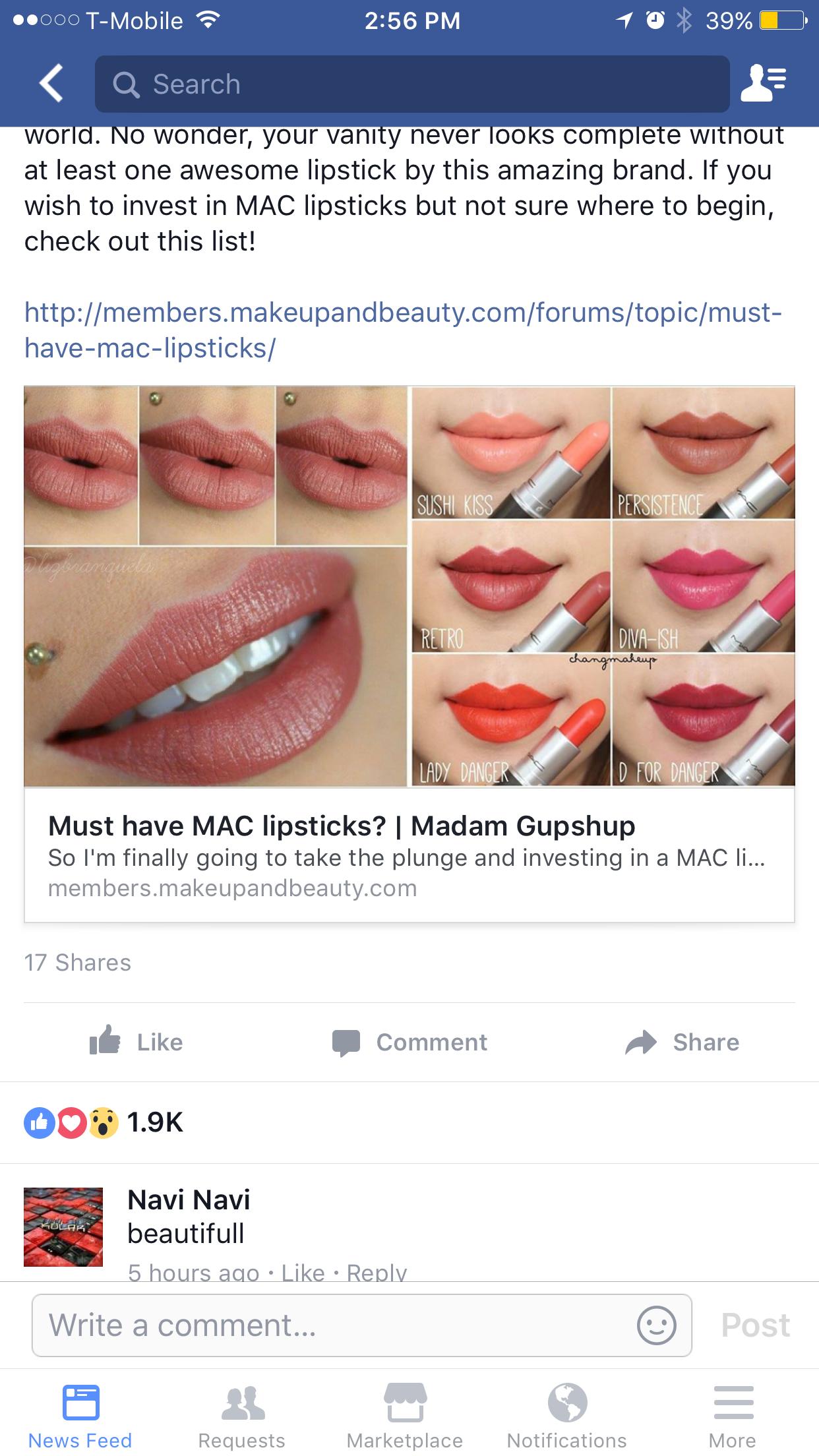 Pin by Shipra Marwaha on Makeup Mac lipstick, Makeup