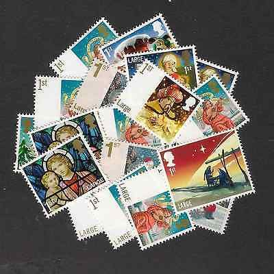 50x 1st #class large letter genuine #british mint new #postage stamps,  View more on the LINK: 	http://www.zeppy.io/product/gb/2/252492142305/
