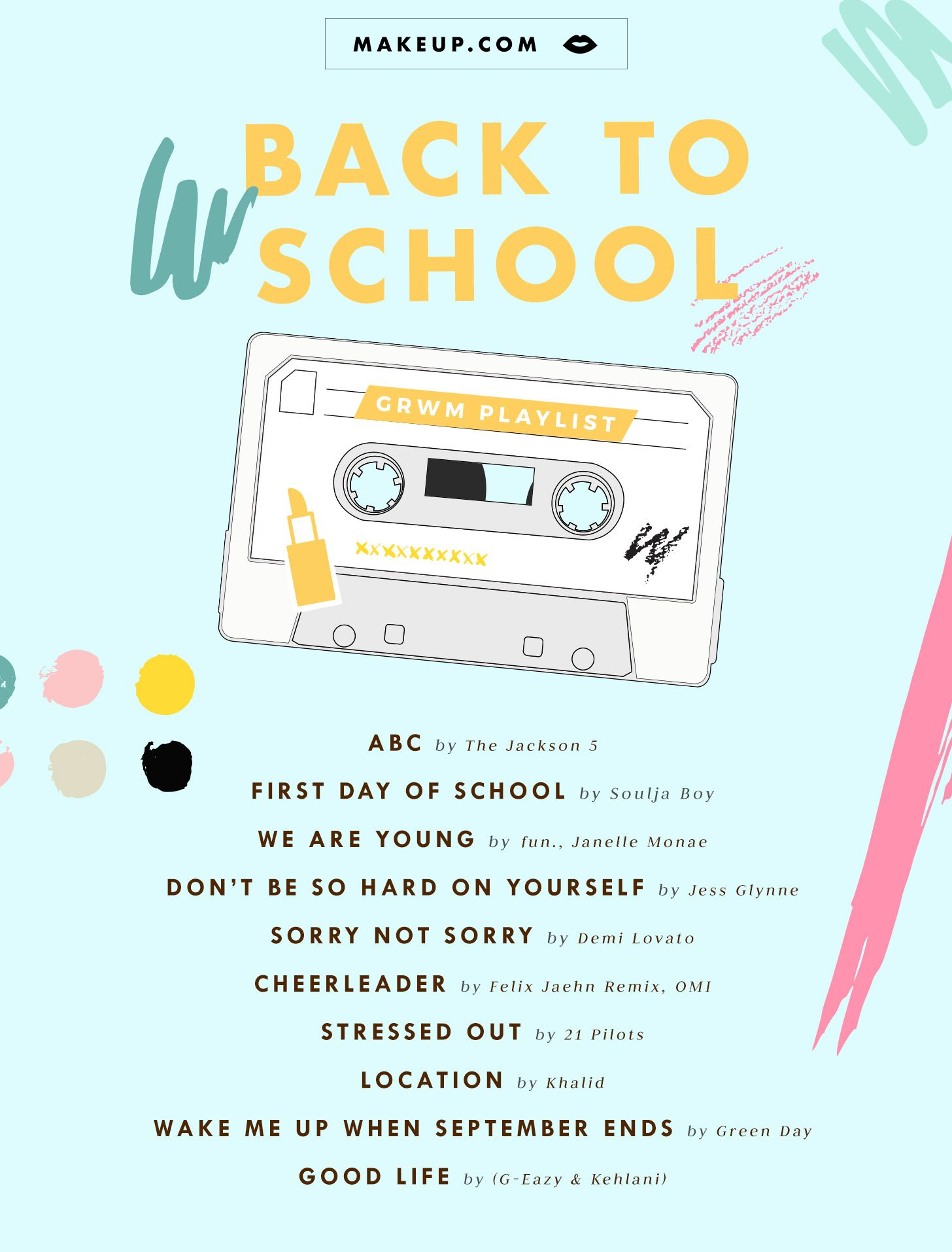 Back To School Spotify Music Playlist And Makeup Tutorial Makeup Com By L Oreal Music Playlist Spotify Music Mood Songs Hey loves , in this video you will be seeing me getting ready while listening to my jams that i have been recently nonstop have been listening to, hope you. pinterest