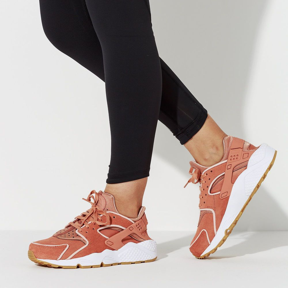 best service 58cee 0d536 Nike Air Huarache Run PRM   Blush Beige White Gum   Womens Trainers