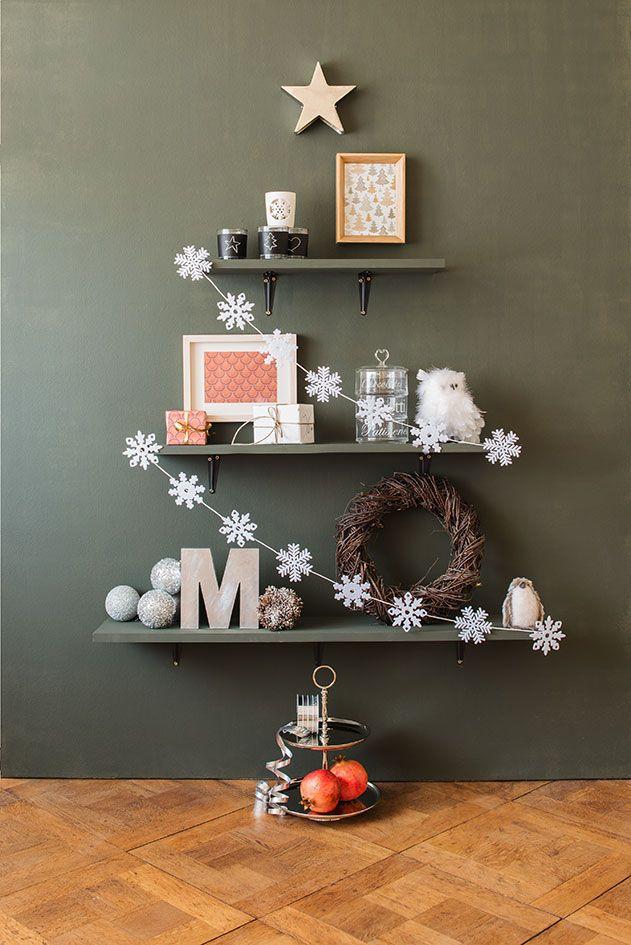 Wandweihnachtsbaum Zum Selbermachen Migros Weihnachten Xmas Diy
