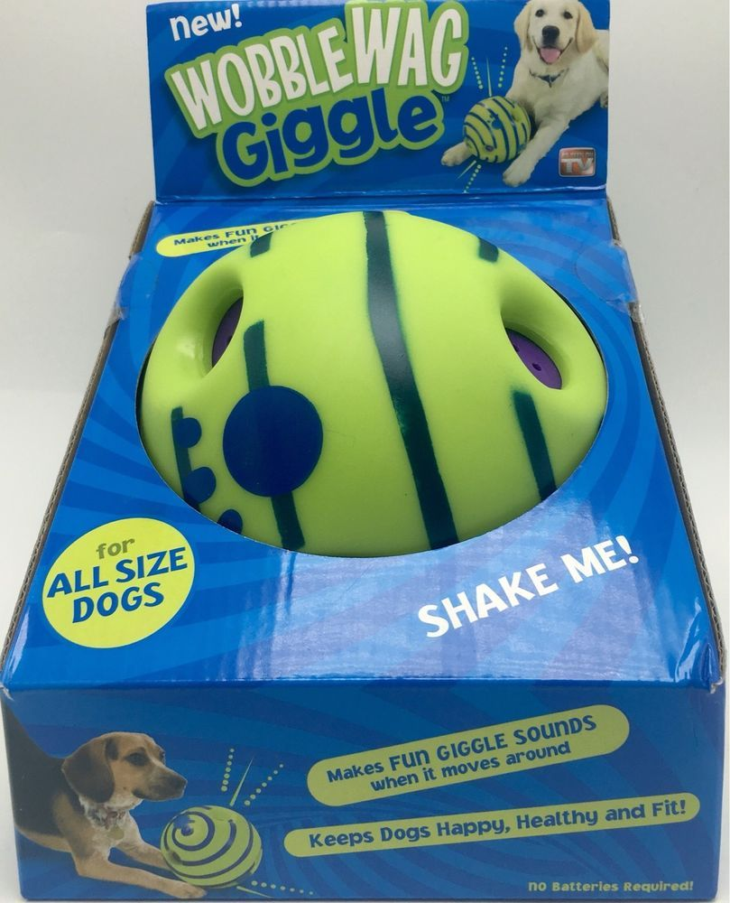 Wobble Wag Giggle Dog Sounds Movements Pet Toy New Allstar Dog
