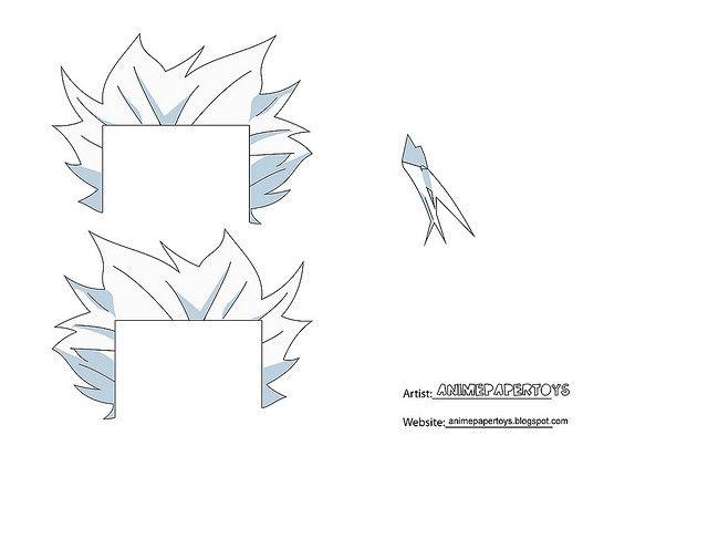 TOSHIRO ANIME PAPER TOY1-B