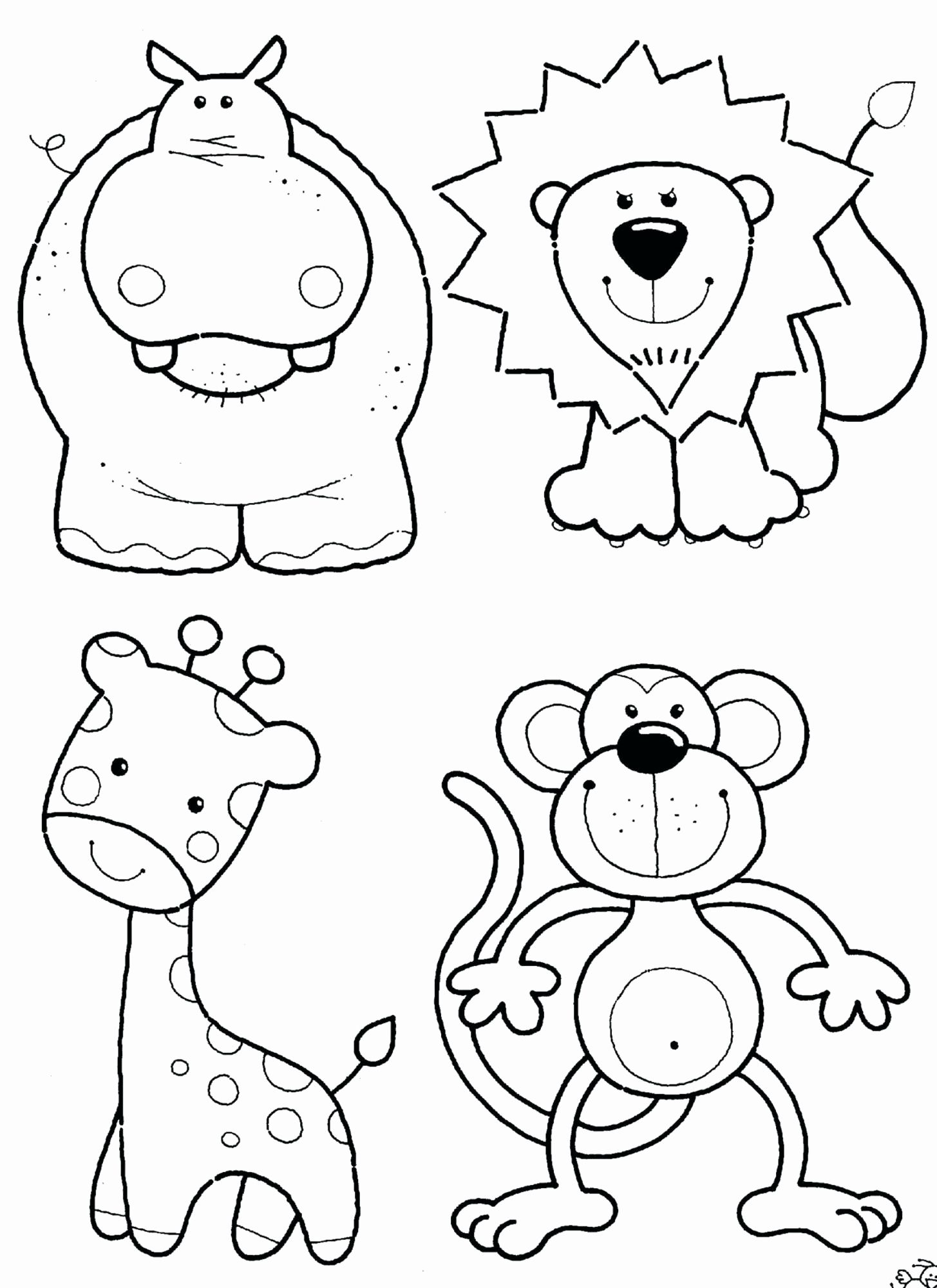 Zoo Animal Coloring Pages For Kids Zoo Coloring Pages Giraffe Coloring Pages Animal Coloring Books