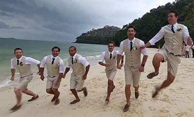 Pin By Kelly Baldock On Beach Weddings Beach Wedding Men Beach
