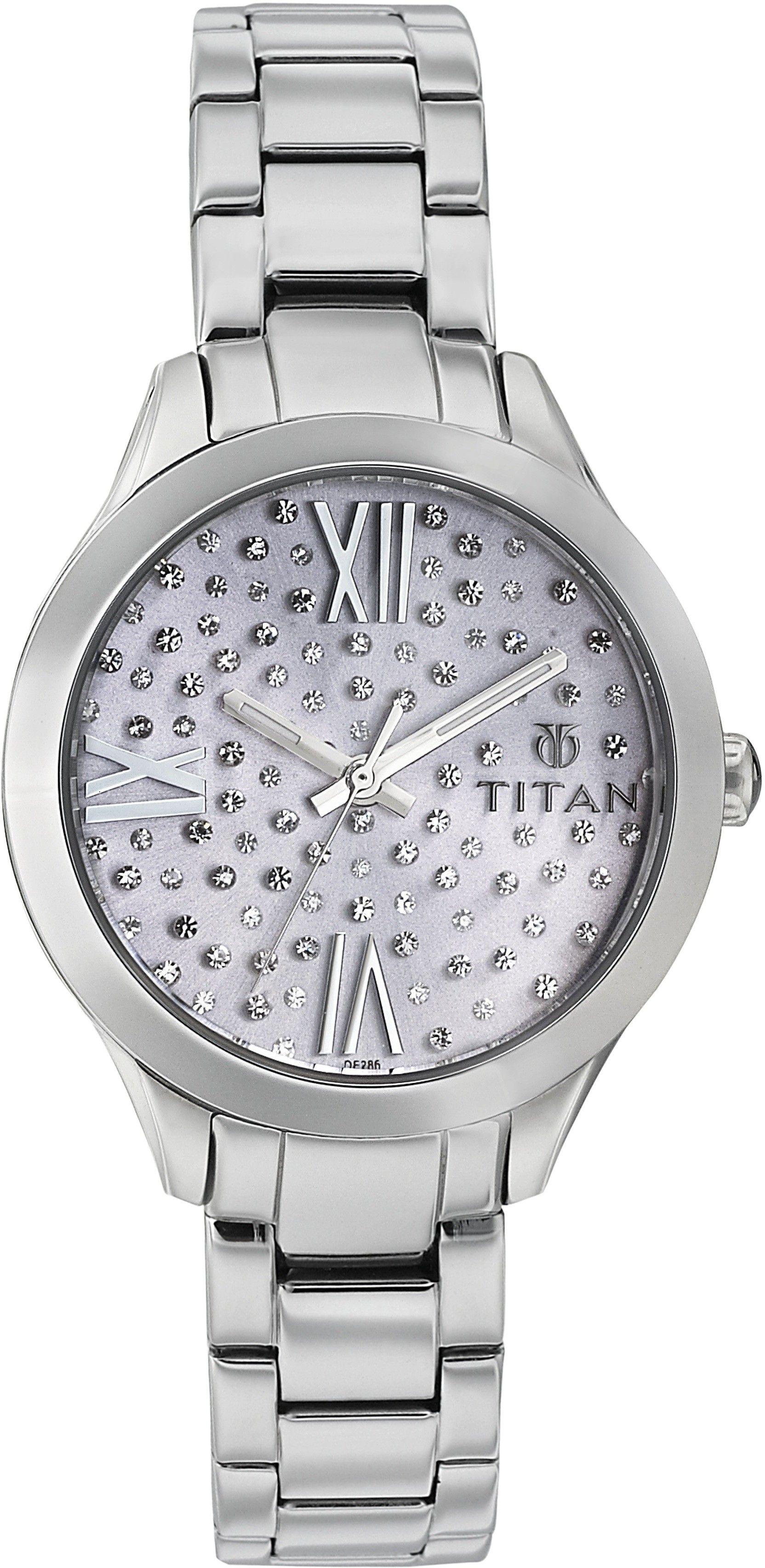 Titan Purple Collection Purple Dial Womens Watch