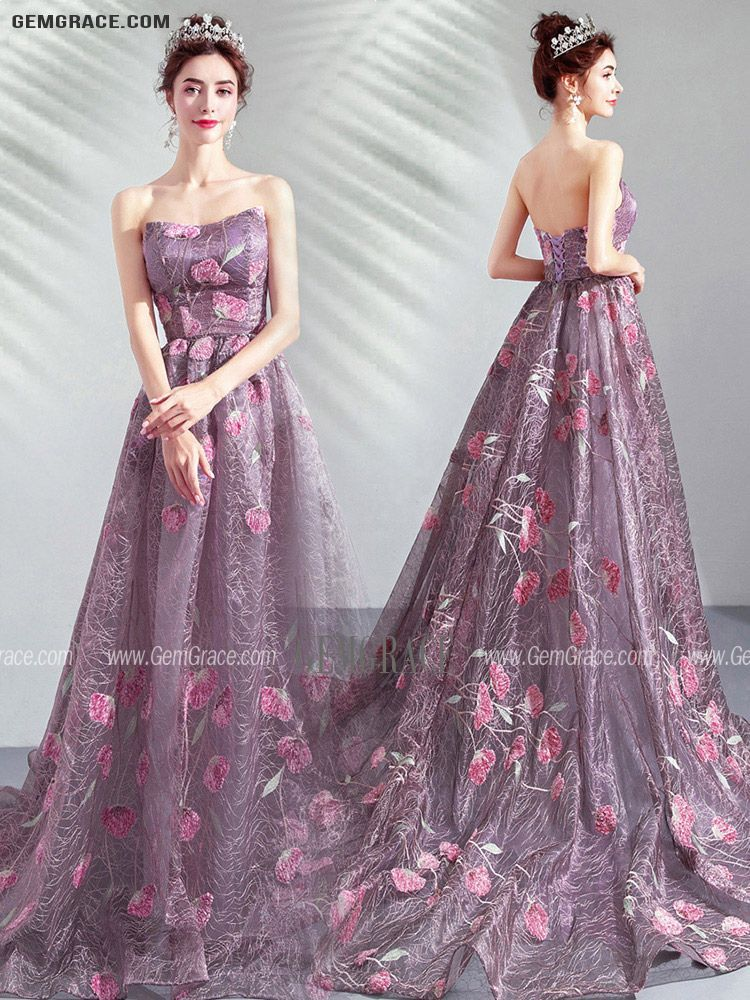 SkyBlue Prom Dresses,Tulle Prom Dress,Elegant Prom Dresses