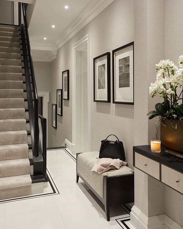 Staircase Ideas For Your Hallway That Will Really Make An: First Impressions Are Everything. Even If You Have A