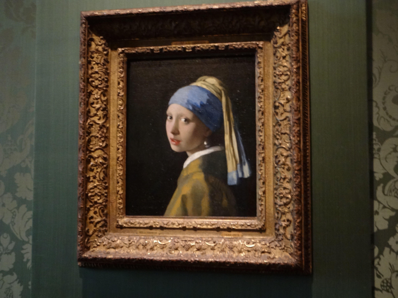 Vermeer in Mauritshuis
