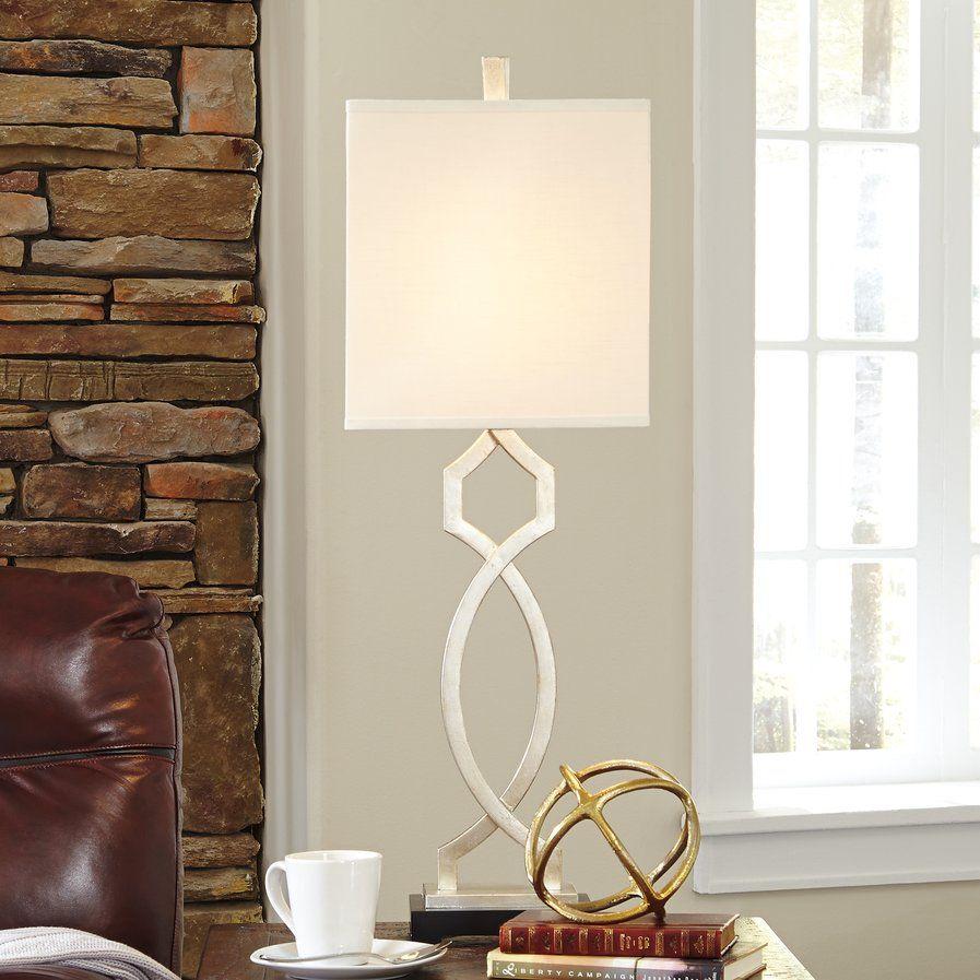"Borton 36.5"" Table Lamp Contemporary table lamps, Lamp"