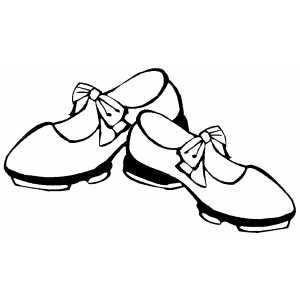Dancing Shoes Coloring Page Dance Coloring Pages Coloring Pages