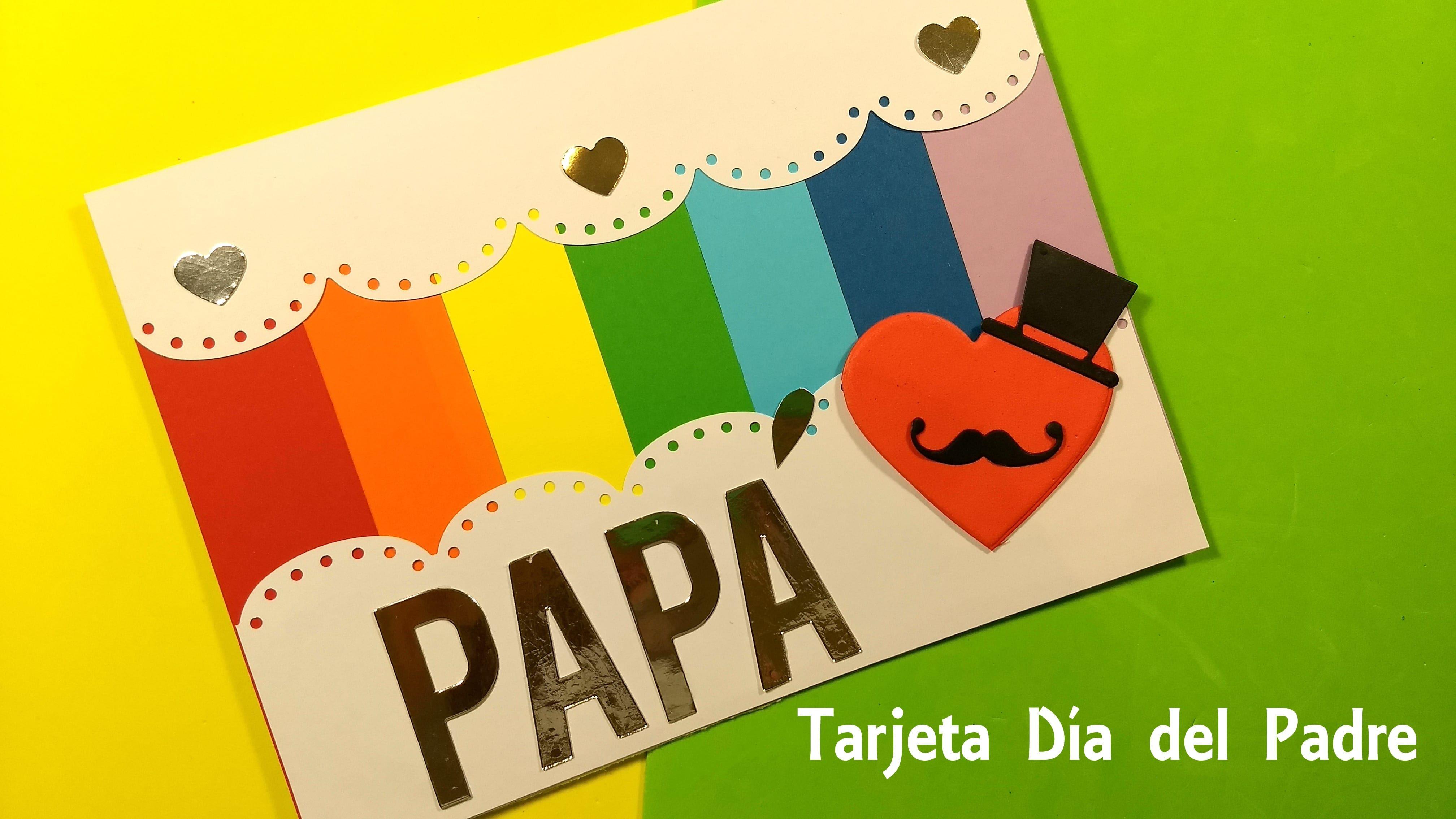 Tarjeta súper fácil para regalar el día del padre en 5 minutos