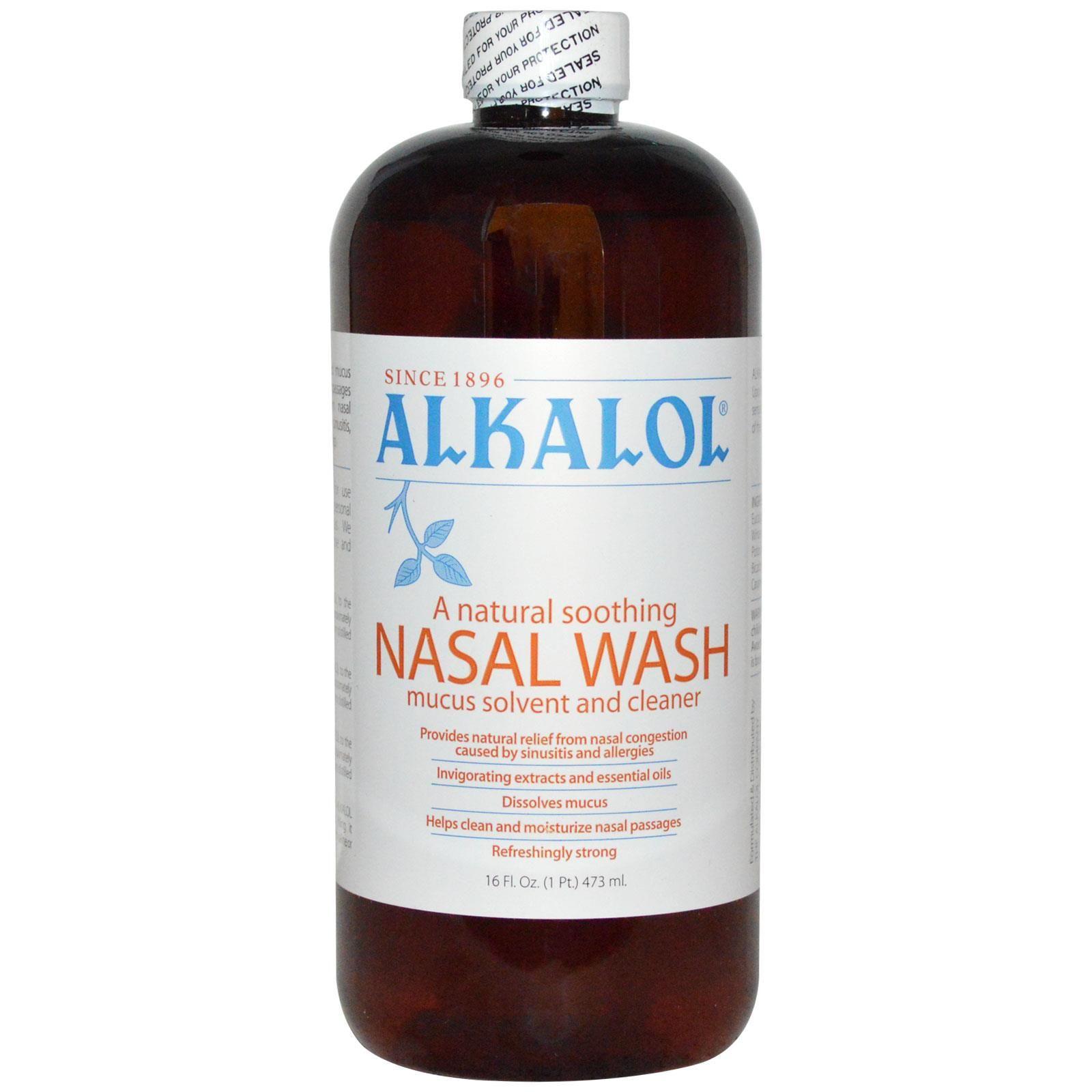 Alkalol | Alkalol, A Natural Soothing Nasal Wash Mucus