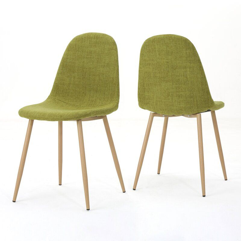 George Oliver Christopher Upholstered Dining Chair Mid Century Dining Chairs Dining Chairs Modern Fabric Dining Chairs