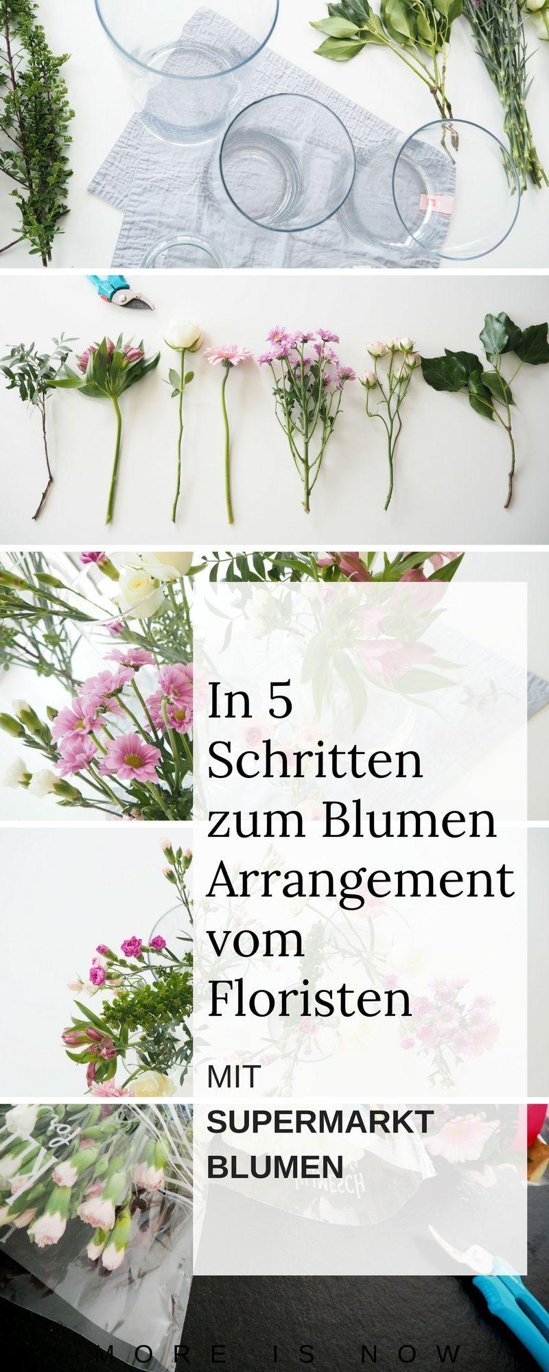 Mama dekoriert - Blumen aus dem Supermarkt pimpen, so geht ...