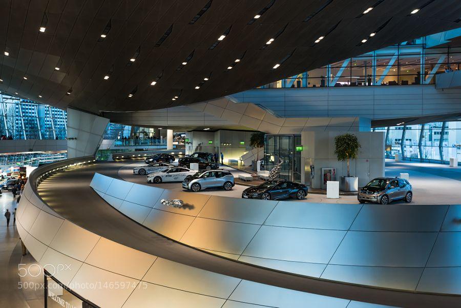 BMW-Welt by heinoklinnert