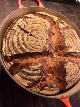 Unser täglich Brot: Landbrot aus dem Topf. Idiotensicher. Ok, nicht ganz...