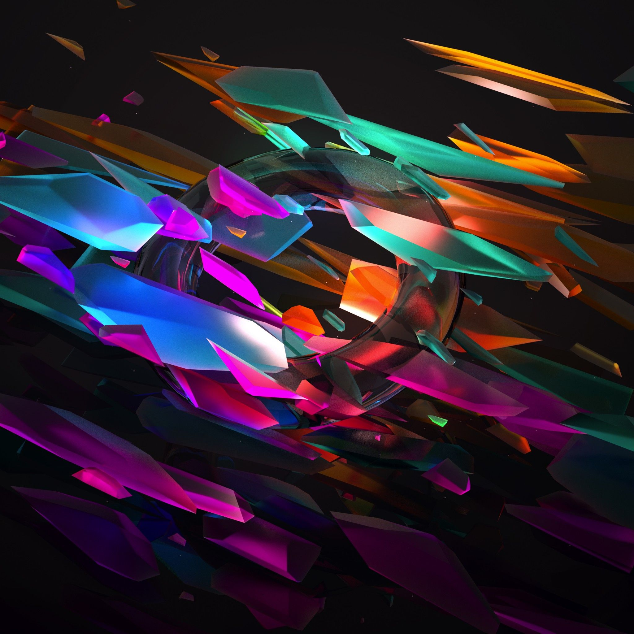 Gamut Tap To See More Cool 3d Abstract Art Wallpapers By Justin