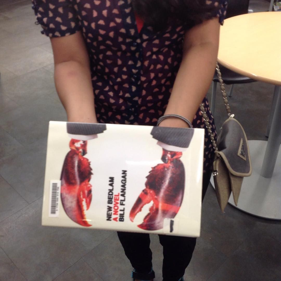 Hillman Instragram for BookFace titles | Lobsters!!! @Hillman Alfresco #alfrescobookface #2015alfresco