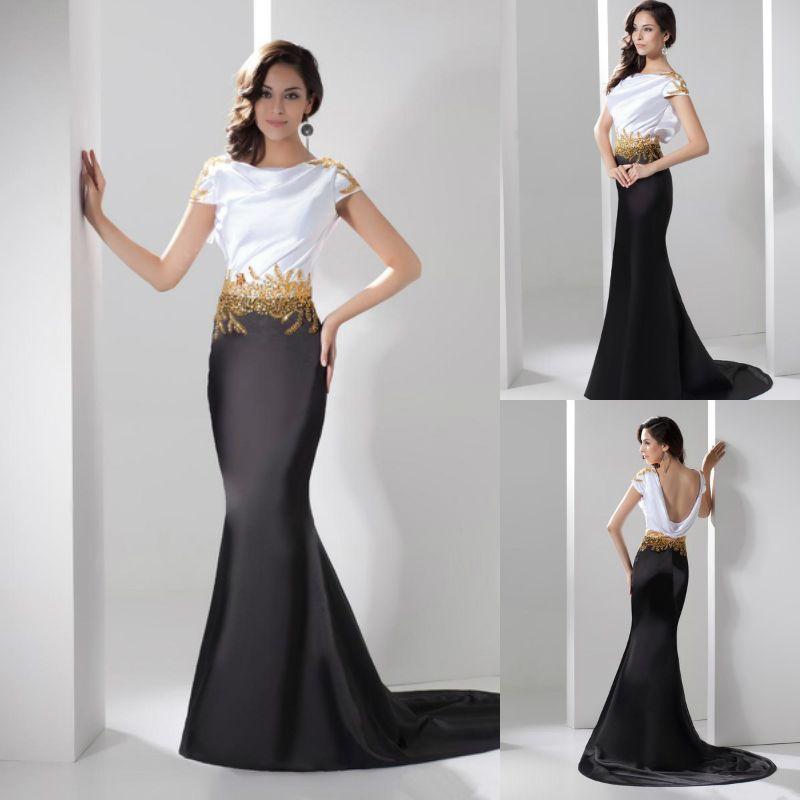Evening Black Dresses For Women 18