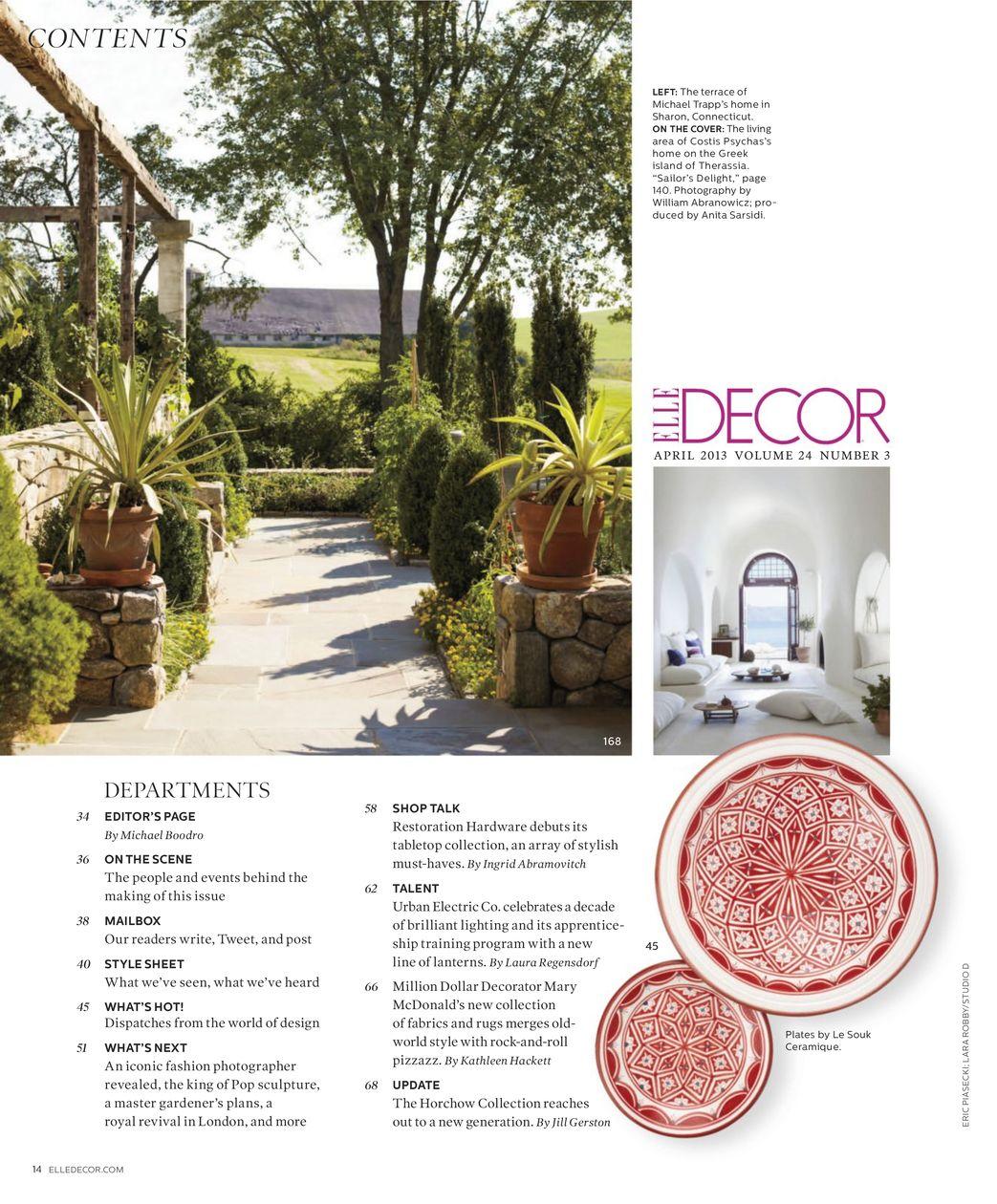 ELLE DECOR Magazine Subscription, 10 Digital Issues | Zinio