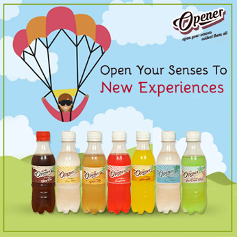 The newest member of the Hajoori family, Opener, will open up all your senses so you are ready for new experiences, feelings and connections.