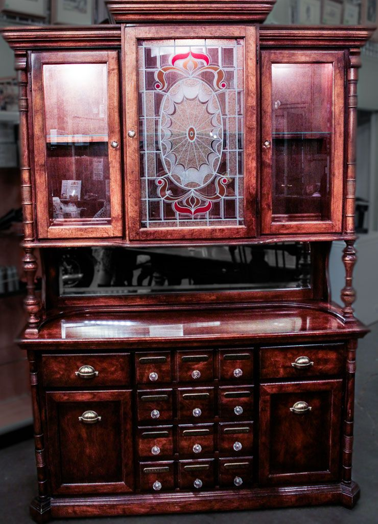 Lot Image13a In The 8.18.15 Online U0026 Live Auction! Vintage Apothecary Style  Hutch