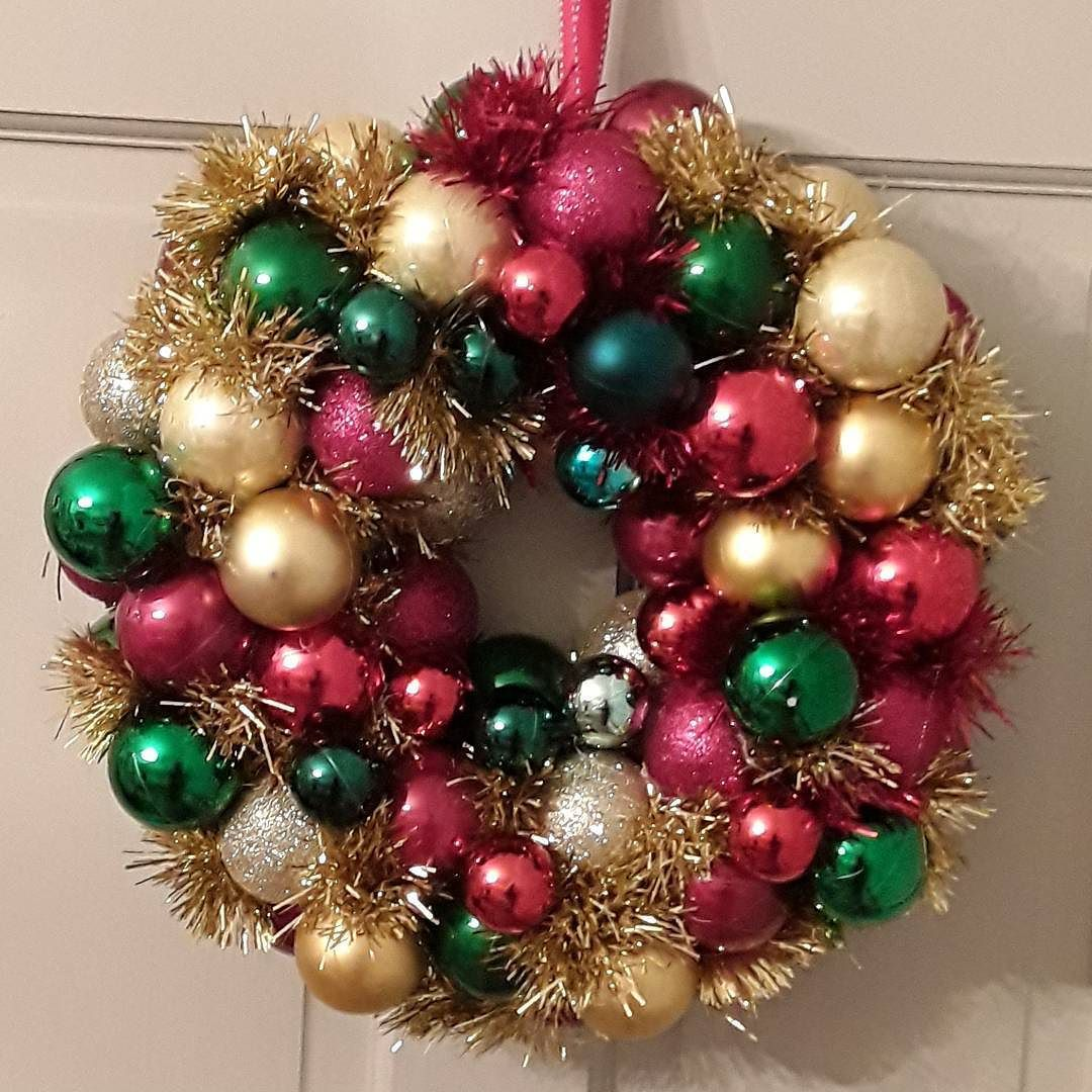 Christmas Wreath. Look away now if you are not in the Christmas ...